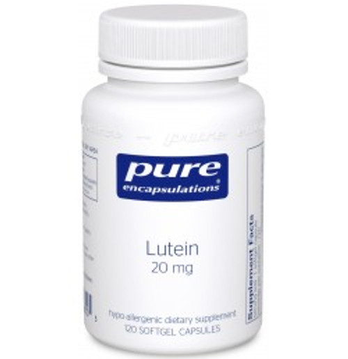 Lutein 20 mg 120 Softgels (LU1)