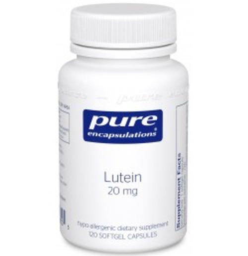 Lutein 20 mg 120 Softgels (LU1)