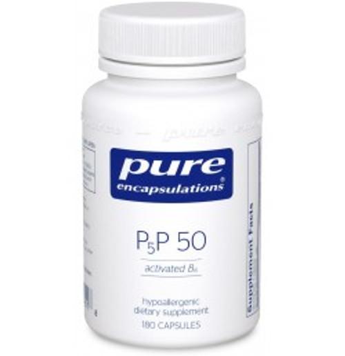 P5P 50 (activated B6) 180 Capsules (P51)