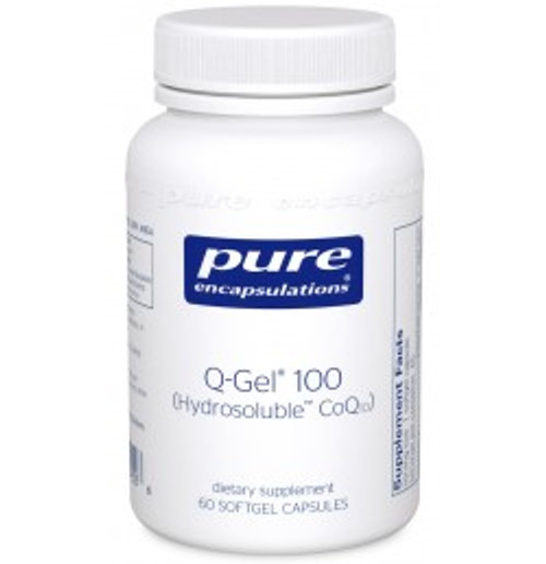 Q-Gel (Hydrosoluble CoQ10) 100 mg 60 Softgels (QG16)