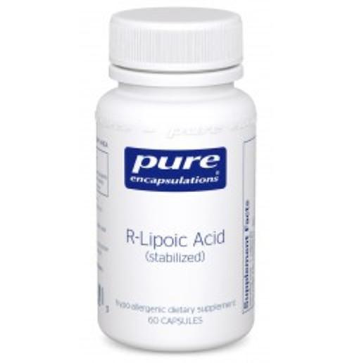 R-Lipoic Acid (stabilized) 60 Capsules (RLA6)