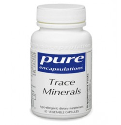 Trace Minerals 60 Capsules (TRM26)