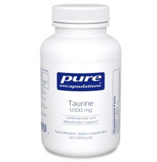 Taurine 1,000 mg 120 Capsules (TA11)