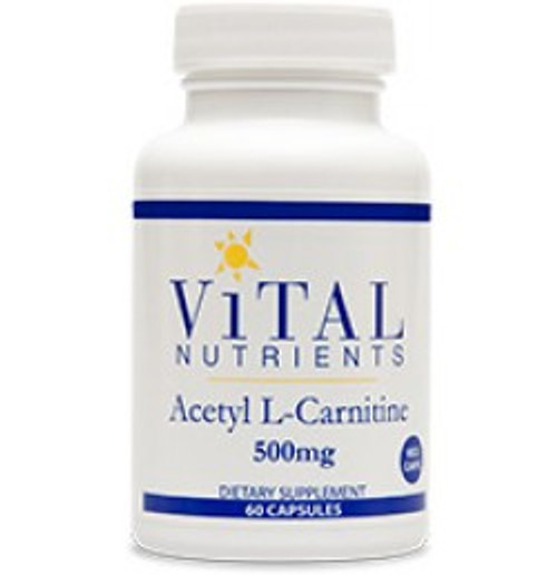 Acetyl L-Carnitine 500 mg 60 Capsules (VNALC)