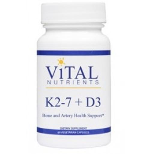 K2-7 + D3 60 Capsules (VNVK2D)