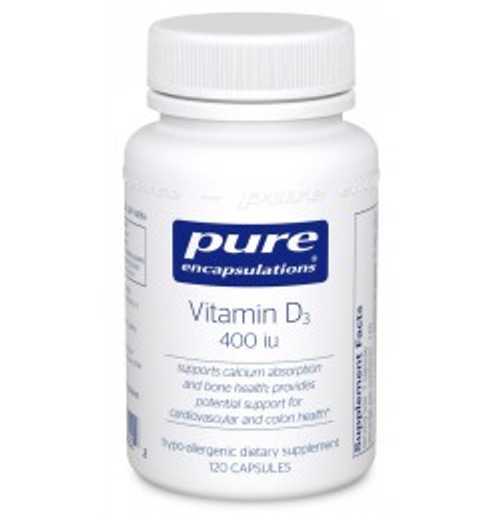 Vitamin D3 400 i.u. 120 Capsules (VD1)