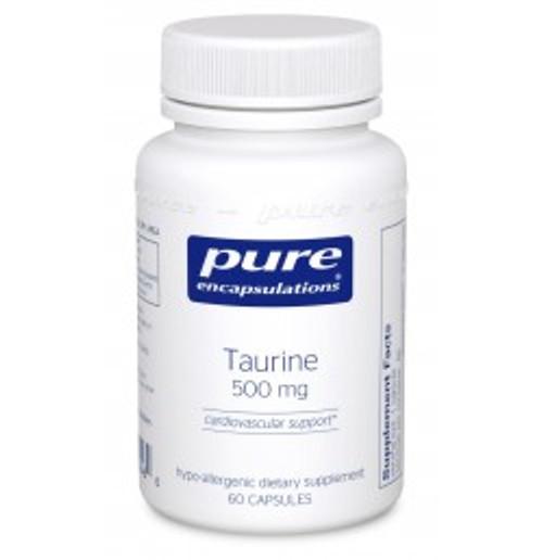 Taurine 500 mg 60 Capsules (TA56)
