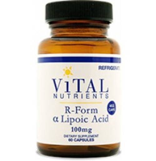 R-Form Lipoic Acid 60 Capsules (VNRL)