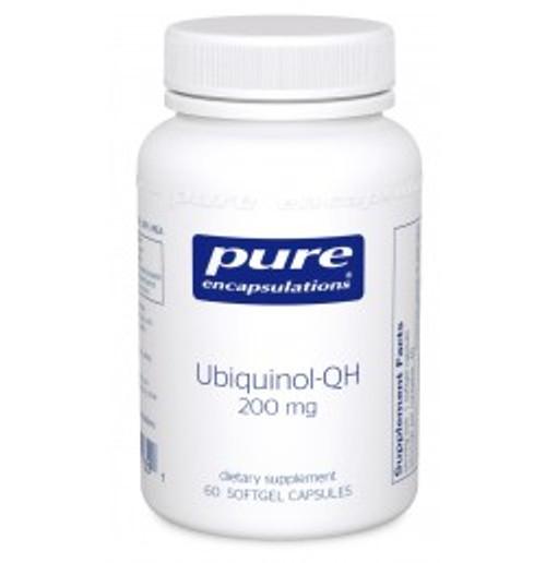 Ubiquinol-QH 200 mg 60 Softgels (UQ26)