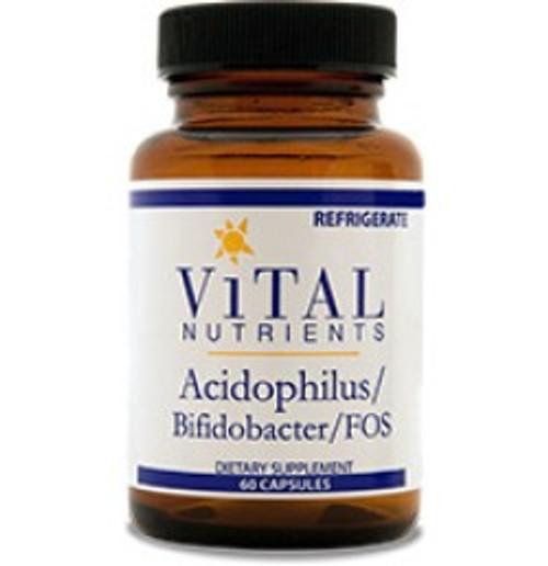 Acidophilus/Bifidobacter/FOS 60 Capsules (VNAC)