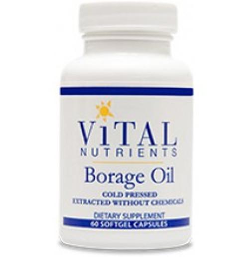 Borage Oil 60 Softgels (VNBO)