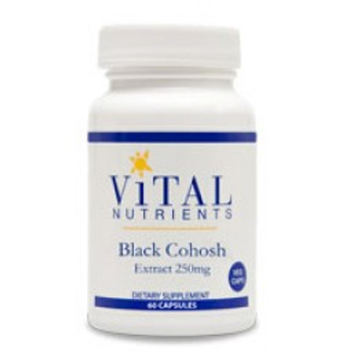 Black Cohosh Extract 250 mg 60 Capsules (VNBKCO)