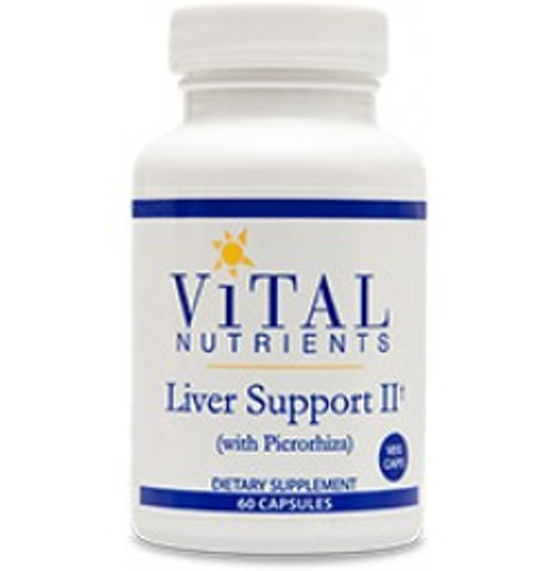 Liver Support II (with picrorhiza) 60 Capsules (VNLIV2)