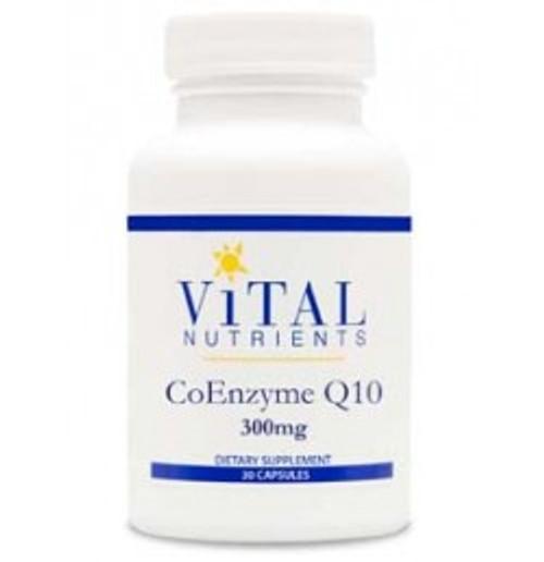 CoEnzyme Q10 300 mg 30 Capsules (VNCQ300)