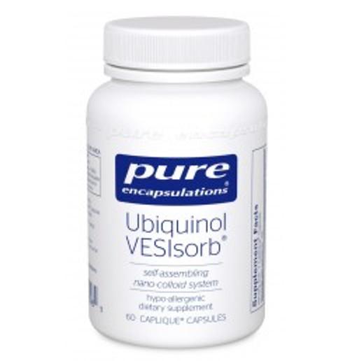 Ubiquinol VESIsorb 60 Capsules (UQV6)