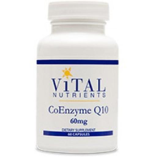 CoEnzyme Q10 60 mg 60 Capsules (VNCQ60)