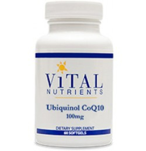 Ubiquinol CoQ10 100 mg 60 Softgels (VNCQU)