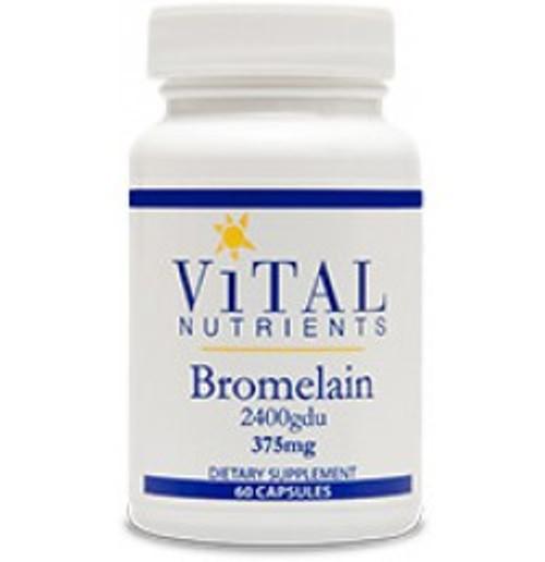 Bromelain 375 mg 60 Capsules (VNBR)