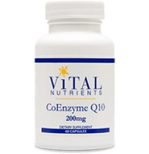 CoEnzyme Q10 200 mg 60 Capsules (VNCQ200)