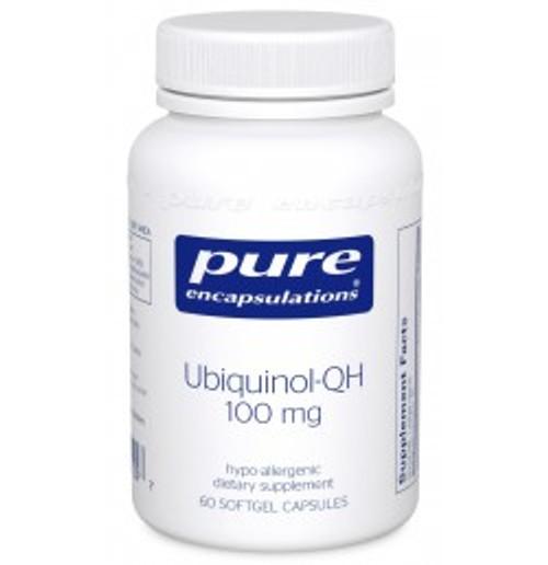 Ubiquinol-QH 100 mg 60 Softgels (UQ16)