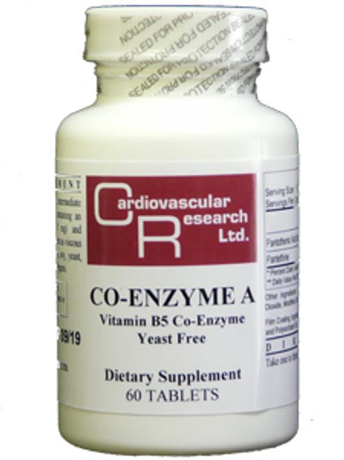 Co-Enzyme A Precursor Formula 60 tabs (COA)