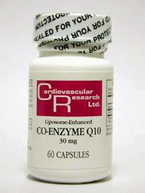 CoEnzyme Q10 30 mg 60 caps (60 COQ)