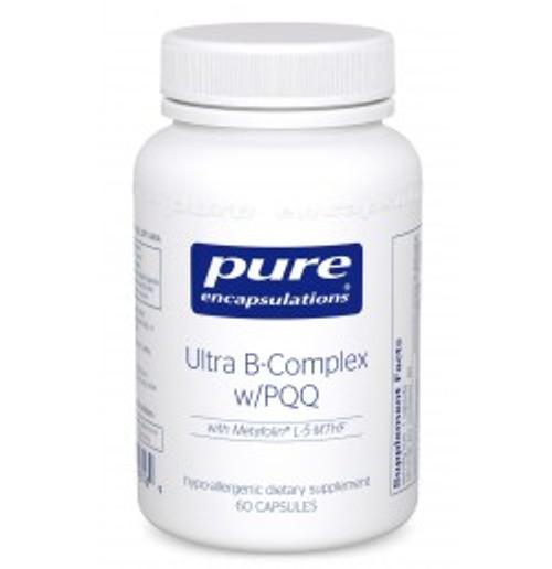 Ultra B-Complex w/PQQ 60 Capsules (BPQ6)