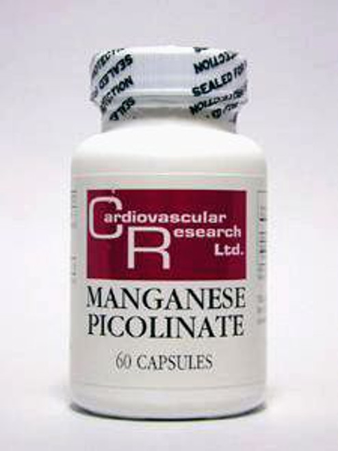 Manganese Picolinate 20 mg 60 caps (MANG PIC)