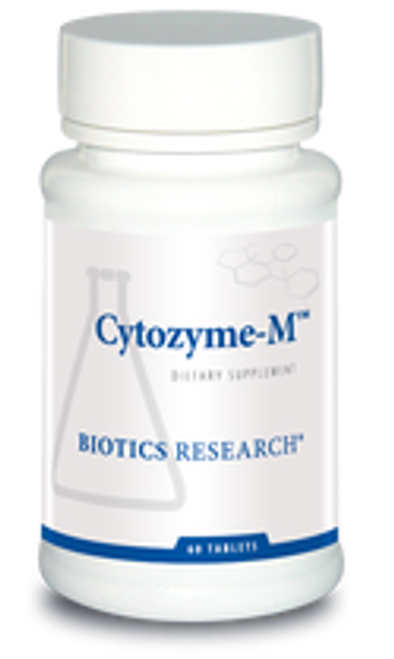 Cytozyme-M 60 Tablets Biotics Research