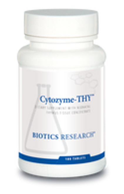 Cytozyme-THY 180 Tablets Biotics Research