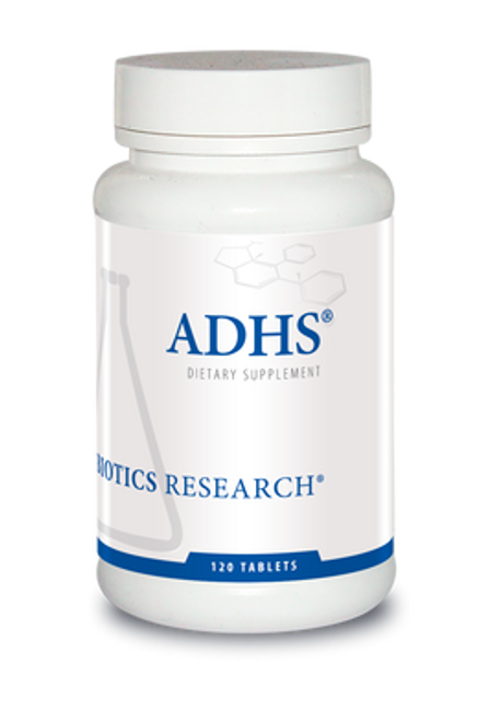 ADHS 120 Tablets Biotics Research
