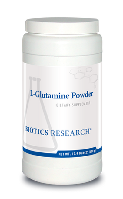L-Glutamine 500 Grams Biotics Research