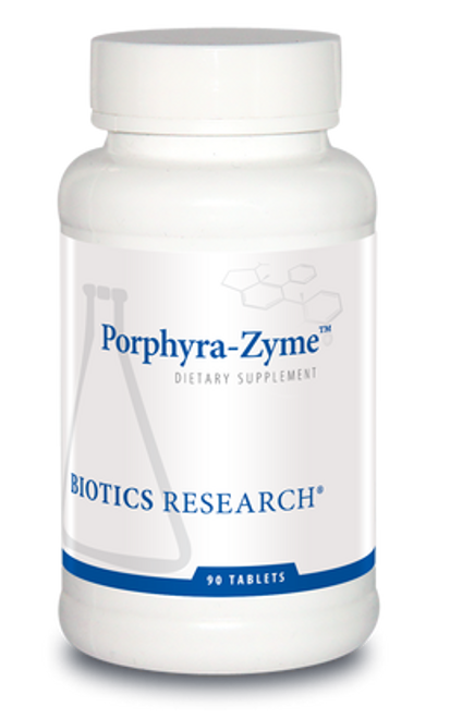 Porphyra-Zyme 90 Tablets Biotics Research