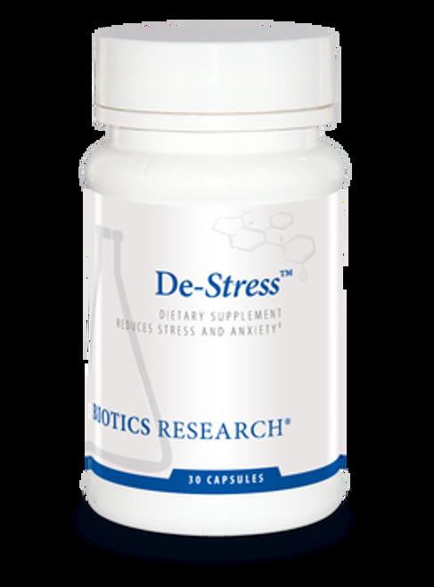 De-Stress 30 Capsules Biotics Research