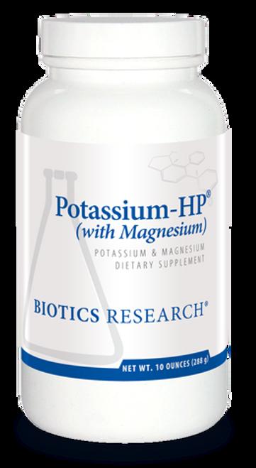 Potassium-HP (with Magnesium) 9.5 oz (264 Grams) Biotics Research