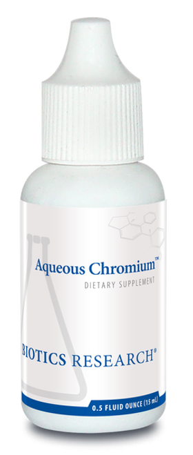 Aqueous Chromium 0.5 oz (15 ml) Biotics Research
