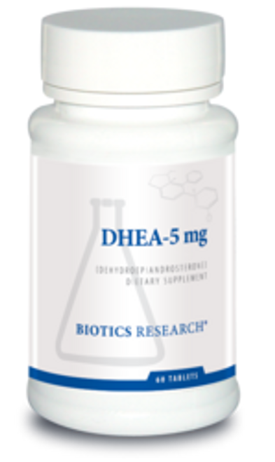DHEA-5 mg 60 Capsules Biotics Research