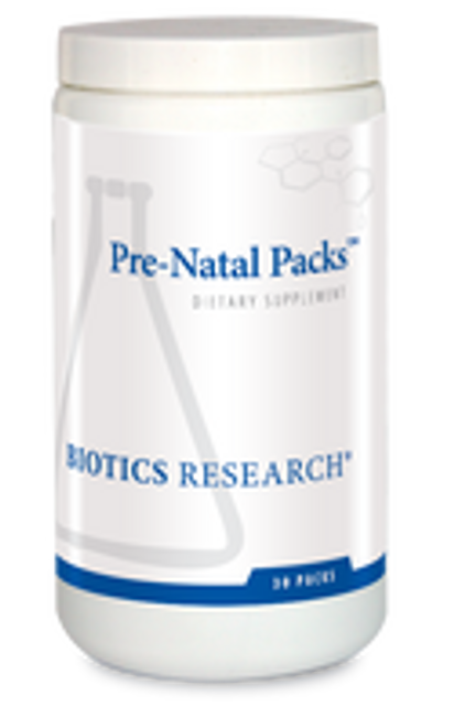 Pre-Natal Packs 31 Packets Biotics Research