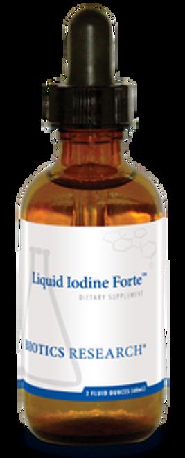 Liquid Iodine Forte 2 oz Biotics Research