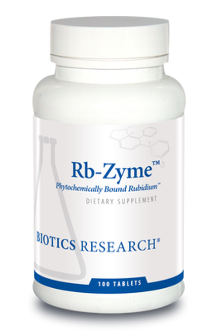 Rb-Zyme 100 Tablets Biotics Research