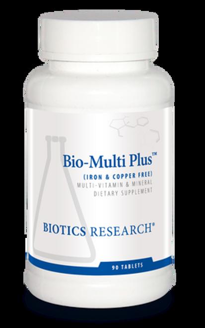 Bio-Multi Plus Iron & Copper Free 90 Tablets Biotics Research