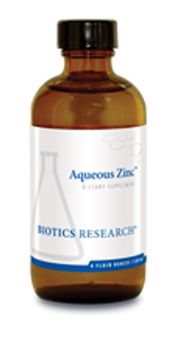 Aqueous Zinc 4 oz (120 ml) Biotics Research