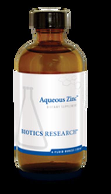 Aqueous Zinc 4 oz (120 ml) Biotics Research