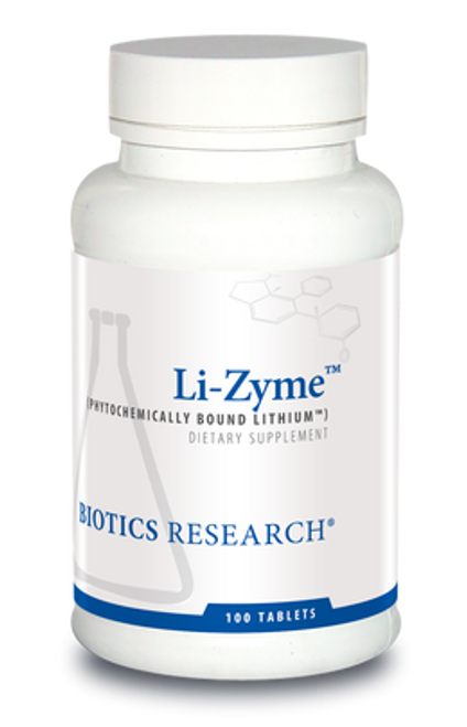 Li-Zyme 100 Tablets Biotics Research