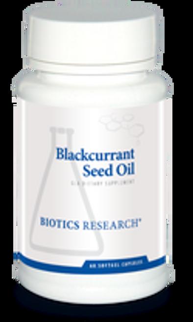 Blackcurrant Seed Oil 60 C Biotics Research