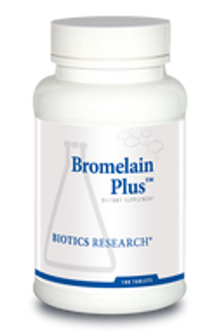 Bromelain Plus 100 Tablets Biotics Research