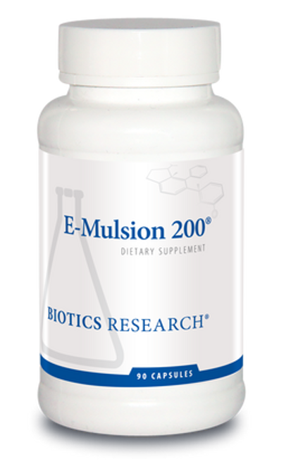 E-Mulsion 200 90 Capsules Biotics Research