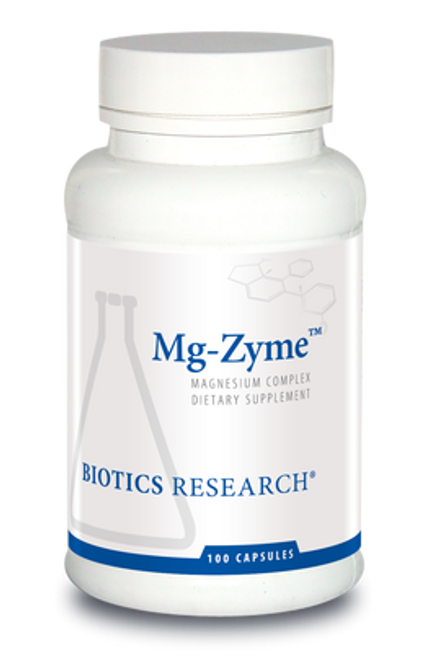 Mg-Zyme 100 Tablets Biotics Research