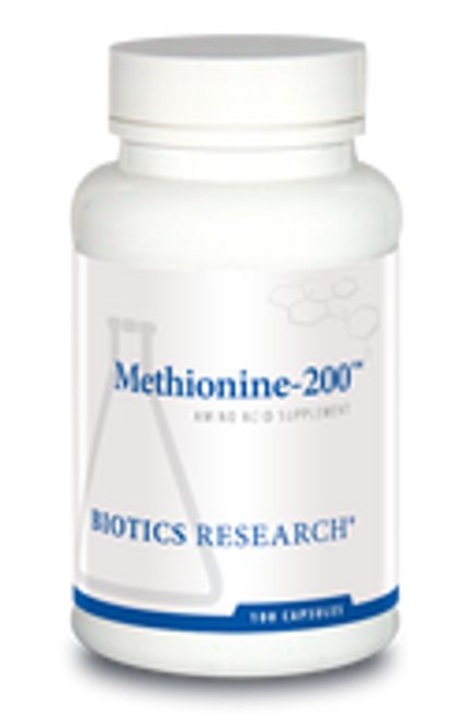 Methionine-200 100 Capsules Biotics Research