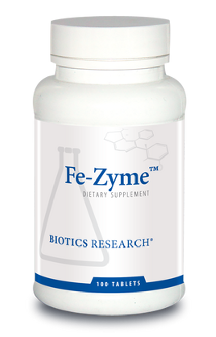 Fe-Zyme 100 Tablets Biotics Research